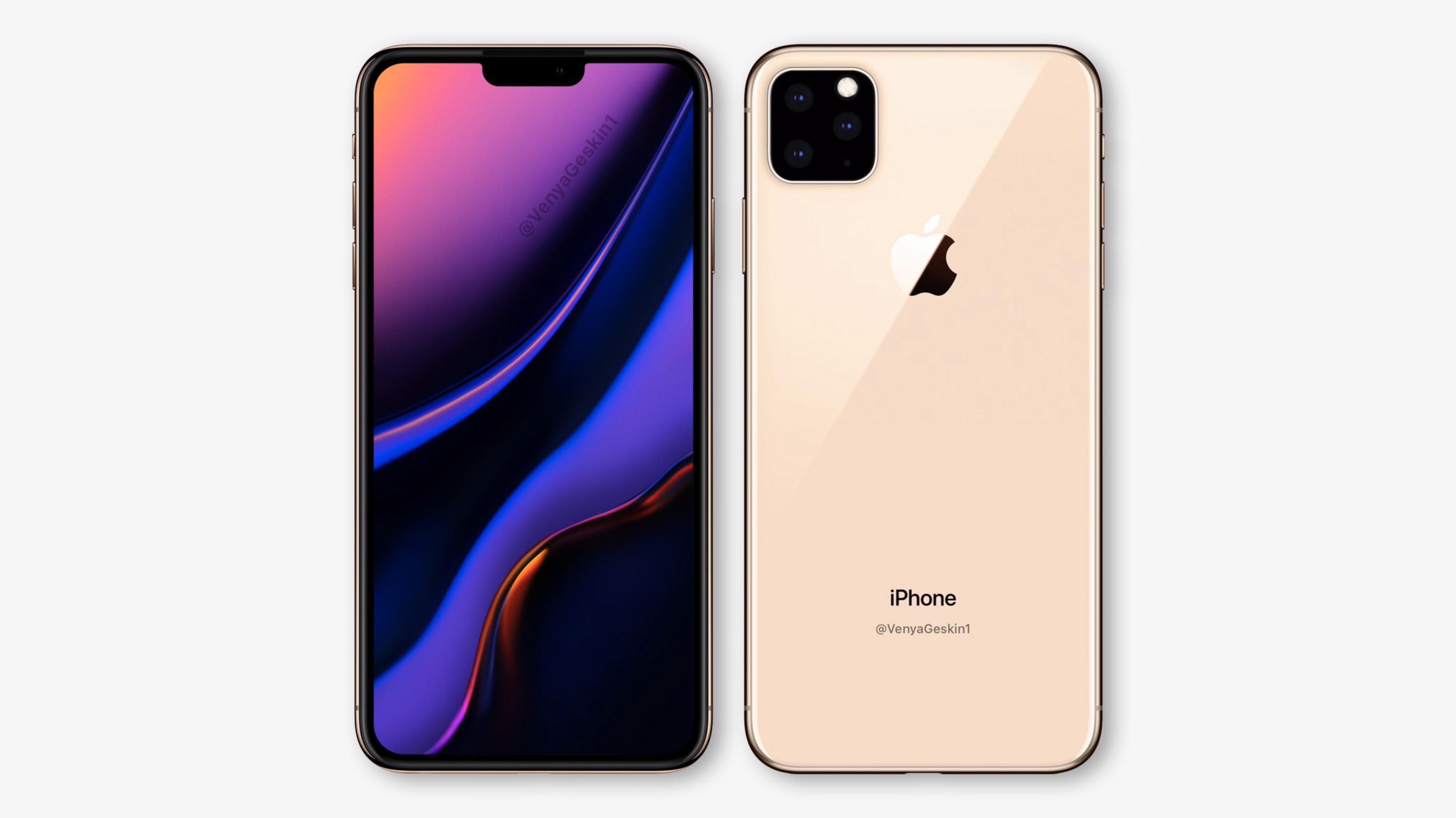 "iPhone XI ""Tizenegyeske"" koncepció"