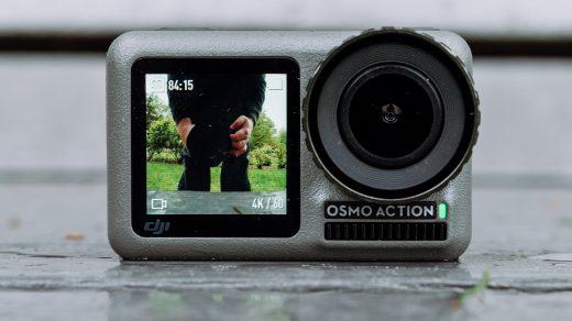 Itt a DJI első akciókamerája, a 4K-s DJI Osmo Action