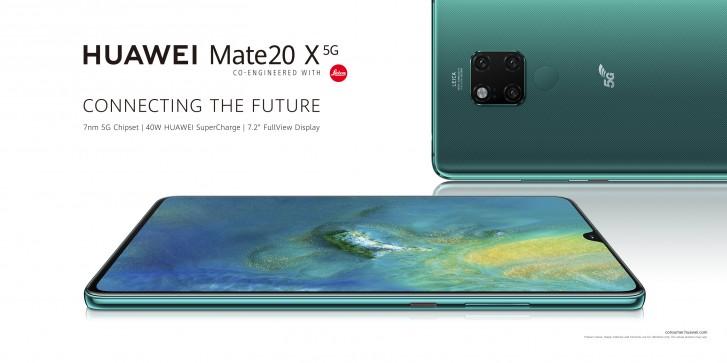 Hivatalosan is bejelentették a Huawei Mate 20 X 5G-s változatát