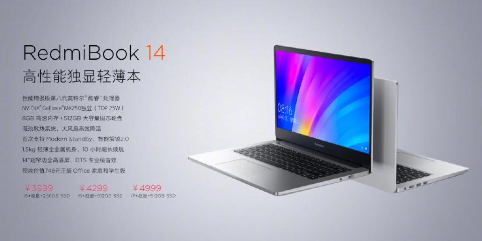 Itt a Redmi első laptopja, a RedmiBook 14, remek árcédulával