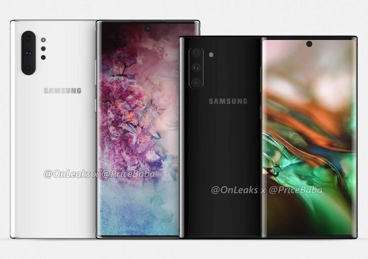Új Samsung Galaxy Note10 Pro render képek szivárogtak ki
