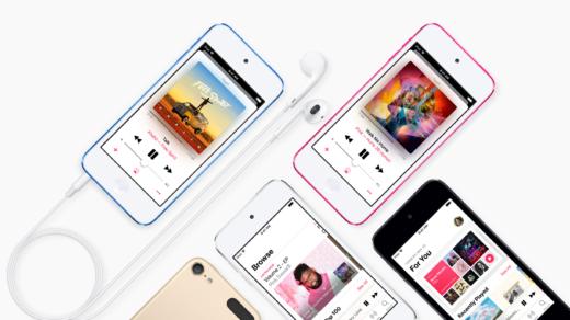 A10 chipsetet és nagyobb tárhelyet kapott az új Apple iPod Touch modell