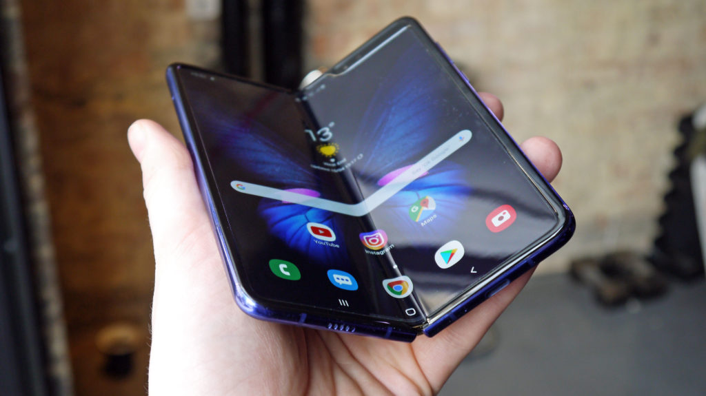 Ősszel tér vissza az újratervezett Samsung Galaxy Fold
