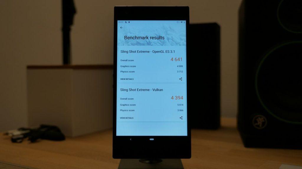 razer phone 2 teszt 3dmark specifikációk