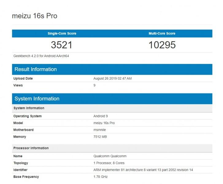 Augusztus 28.-án debütál a Flyme OS 8 és a Meizu 16s Pro