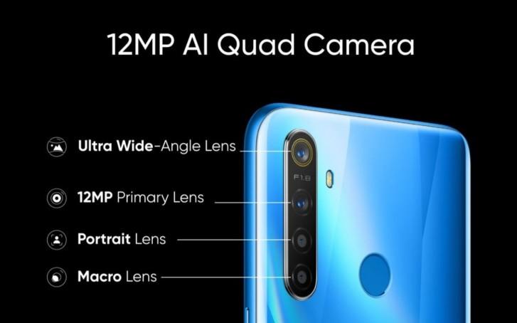 Négy kamerát és új chipsetet hoz az új Realme 5 és Realme 5 Pro