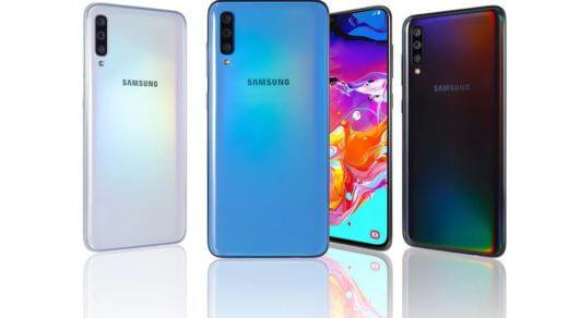 Új kinézetet és 64MP-es kamerát kapott a Samsung Galaxy A70s