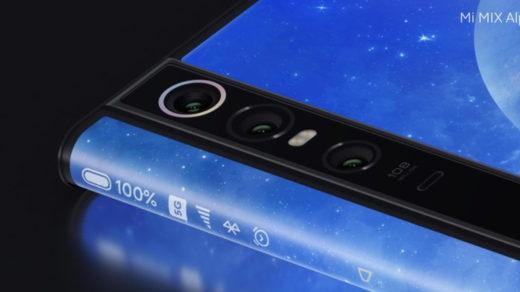 Brutális lett az új Xiaomi Mi Mix Alpha, 108MP-es kamerával