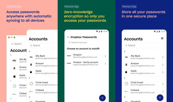 Itt a Dropbox saját jelszókezelője, a Dropbox Passwords